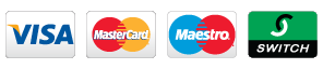 VISA, Mastercard, Maestro, Switch